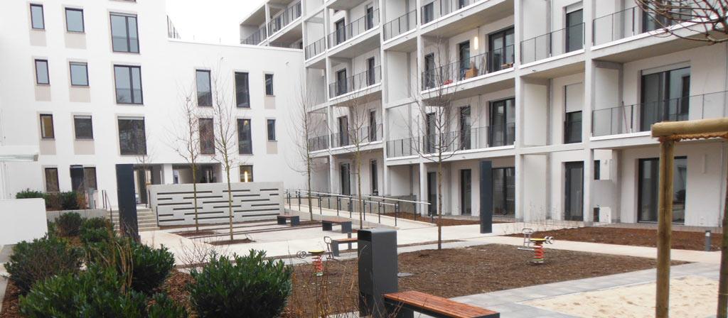 Neubau Komplex im Passivhausstandard