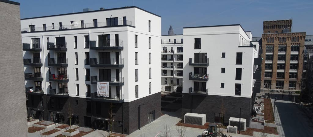 Neubau Mietwohnungskomplex
